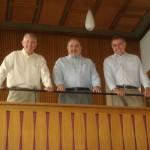 Besuch aus Amerika – Bill Borders und seine Söhne auf Besuch in Jettenburg