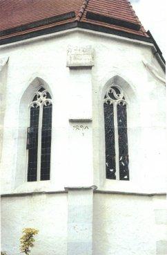 Kirche Wankheim Inschrift