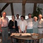 Charles, Betty und Lawrence Walker zu Besuch in der Heimat ihrer Vorfahren