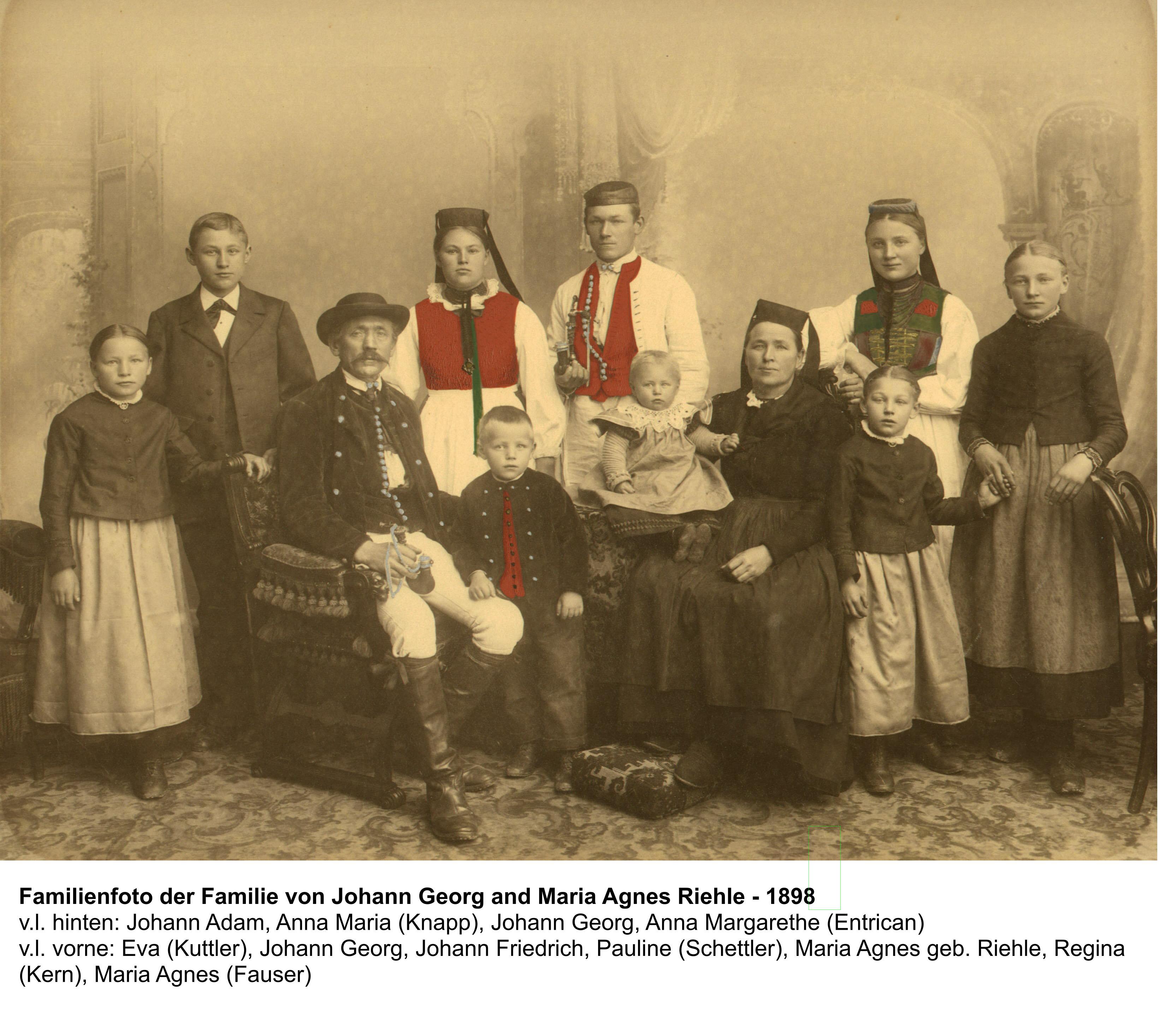 Johann Georg Riehle Family 1898_erw
