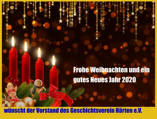 2019 Frohe Weihnachten