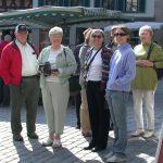 Brenda & John Kearns und Gena & Kerry Schantz auf Besuch in Wankheim